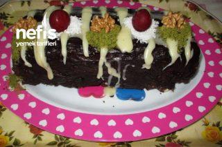 Bol Çikolatalı Mozaik Pasta Tarifi