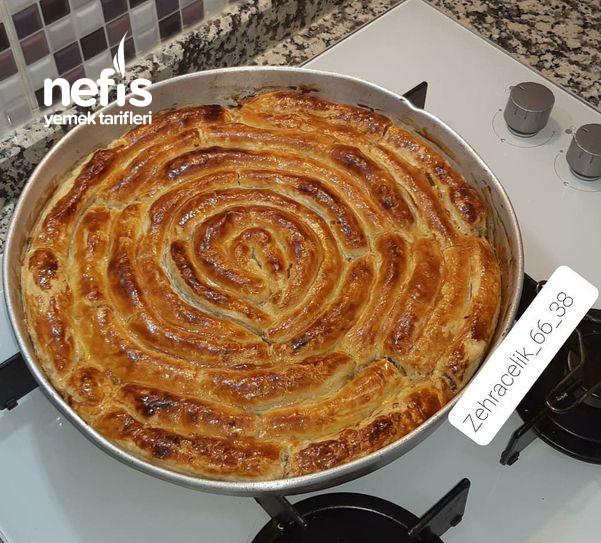 Milfoy Hamurunda Kıymalı Patatesli Börek