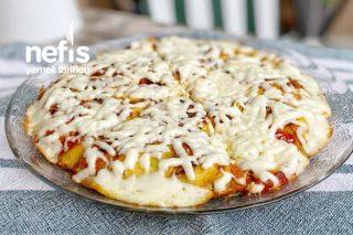 Tavada Pizza Kek Tarifi