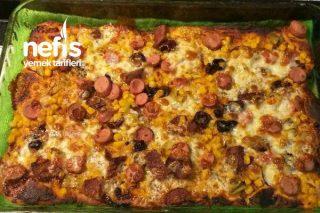 Ev Pizzası 2 Kişilik Tarifi