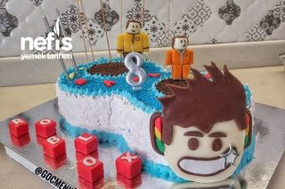 8 Yaş Doğum Günü Pastası Tarifi