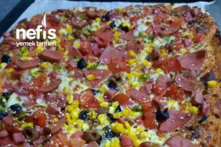Ev Tipi Pizza Tarifi