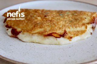 Omlet (5 Dakikada Kahvaltın Hazır) Tarifi