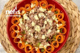 Hardallı Ton Balık Salata Tarifi