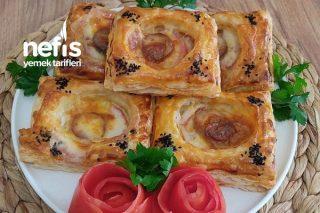 Milföy Hamurundan Kahvaltılık Tarifi