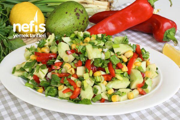 Bu Tarifle Avokadoyu Sevmeyen Kalmayacak! Avokado Salatası (videolu)