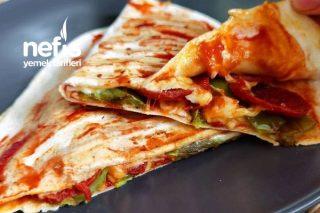 Dolu Dolu Pizza Tost Tarifi