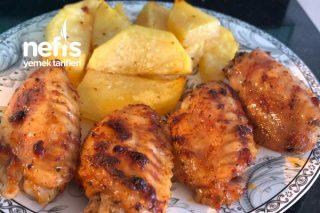 Fırında Mangal Tadında Enfes Tavuk Kanat Tarifi