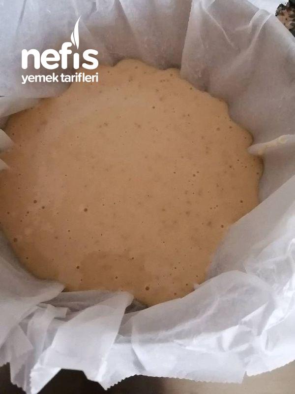 Kuru Fasulyeli Pasta (Kestane Tadında)