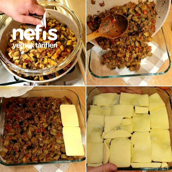 Nefis Bir Fırın Yemeği Kıymalı Patlıcan Graten (Videolu)