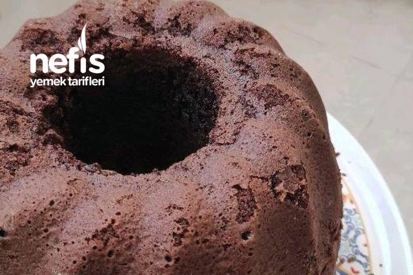 Yumuşacık Kakaolu Puf Kek Favori Kekim Oldu
