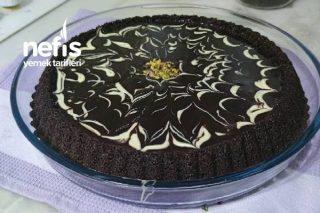 Çikolata Soslu Tart Kalıbında Kek Tarifi