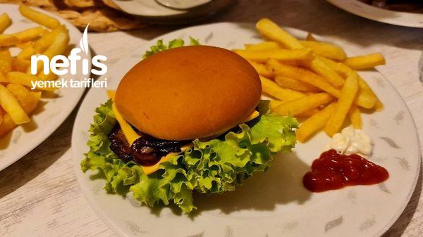 Et Burger Çok Kolay Ve Lezzetli