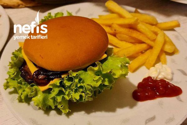 Et Burger Çok Kolay Ve Lezzetli (Videolu)