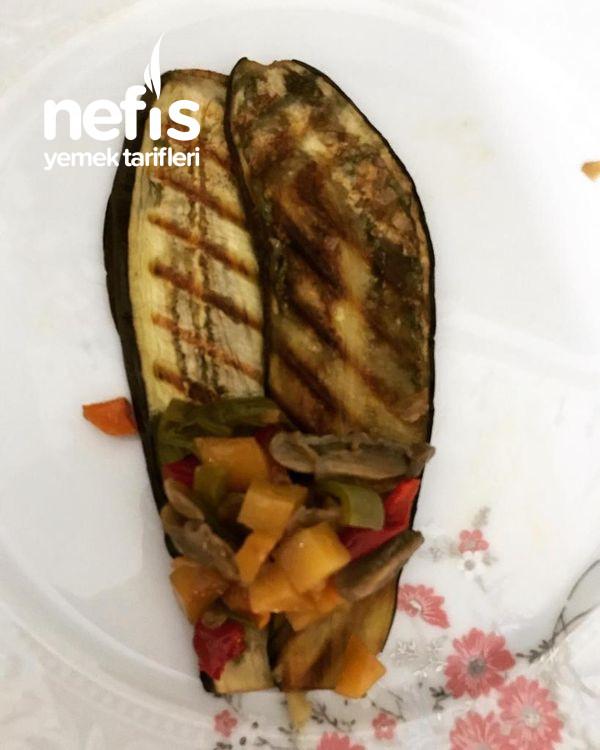Sebzeli Patlıcan Rulo