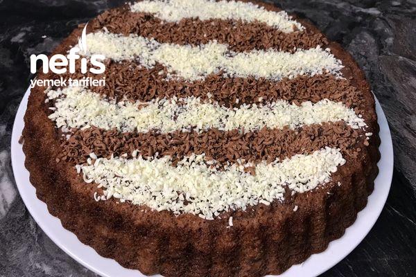 Tart Kalıbında Pratik Pasta Tarifi (Videolu)