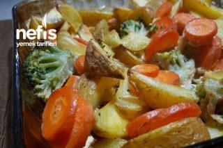 Vegan Kremalı Sebze Tarifi