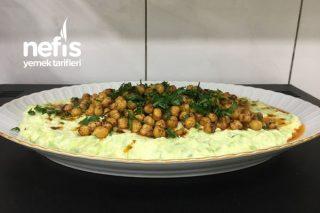 Çıtır Nohutlu Kabak Salatası Tarifi