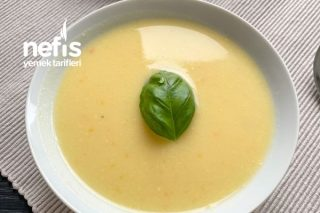 Sütlü Kabak Çorbası (Pratik Ve Vitaminli) Tarifi