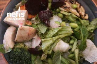 Vegan Salad Bowl Tarifi