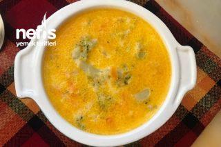 Peynirli Brokoli Çorbası Tarifi