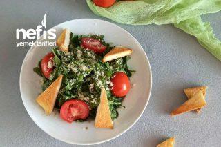 Ballı Balsamik Sirkeli Roka Salatası Tarifi
