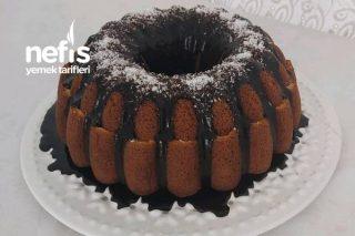Puding Dolgulu Kek / Değişik Kek Tarifleri (Videolu) Tarifi