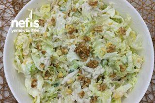 Tavuklu Çıtır Salata (Videolu) Tarifi