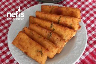 Kahvaltıya Peynir Çubukları Tarifi