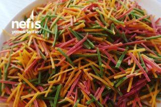Sebzeli Erişte Videolu Tarifi