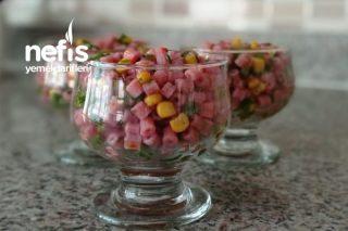 Şalgam Suyunda Boncuk Makarna Salatası (Şalgamlı Makarna Salatası Tarifi)
