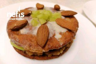 Elmalı Pasta (Fit Şekersiz) Tarifi