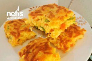 15 Dakikada Kahvaltılık Tepsi Çöreği (Karıştır Fırınla) Tarifi