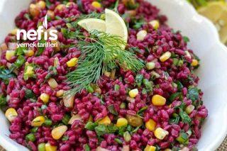 Nar Ekşili Şalgamlı Bulgur Salatası Tarifi