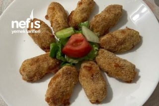 Patatesin Lezzetli Atıştırmalıklarından Fırında Patates Kroket (Potato Balls) Tarifi