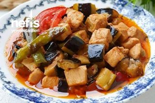 Tavuklu Patlıcan Kebabı (Nefis Lezzette) Tarifi