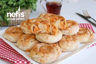 Yumuşacık Çok Lezzetli Patatesli Gül Böreği Tarifi (videolu)