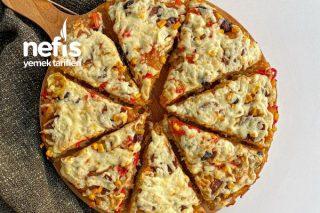 Ekşi Mayalı Pizza Tarifi