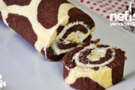 Zürafa Desenli Rulo Pasta Nasıl Yapılır?
