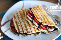 Tost Makinesinde Waffle Yapımı