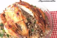 İç Pilavli Tavuk Dolması