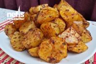 Fırında Salçalı Baharatlı Patates