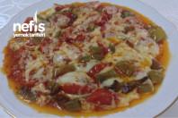 Kahvaltılık Kaşarlı Domates Biber Kızartması ( Nefis ) -7