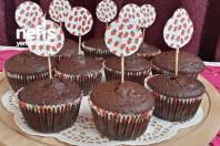 Nutellalı Cupcake -5
