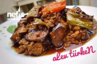Nefis Fırında Kıymalı Patlıcan Musakka (lokanta Usulü)