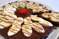 Çikolatalı Muzlu Şipşak Tart