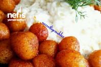 Yoğurtlu Patlıcan Yatağında Bulgur Köftesi -1
