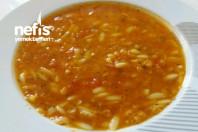 Şehriyeli Kırmızı Mercimek Çorbası -10
