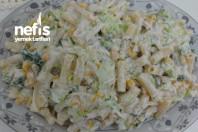Tavuklu Makarna Salatası (gün Salatası) -12