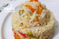 Muhteşem Sebzeli Pirinç Pilavi